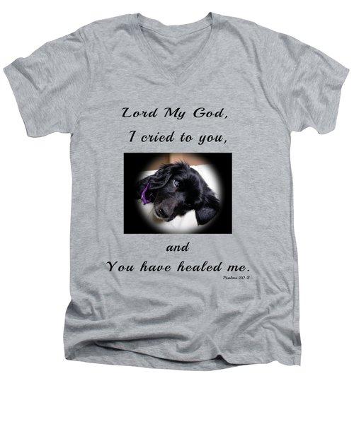 Edie  Men's V-Neck T-Shirt