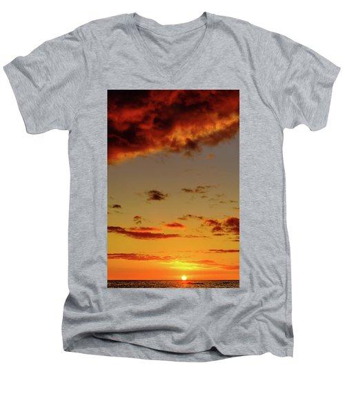 As The Sun Touches Men's V-Neck T-Shirt