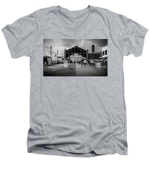 Asbury Park Boardwalk Men's V-Neck T-Shirt