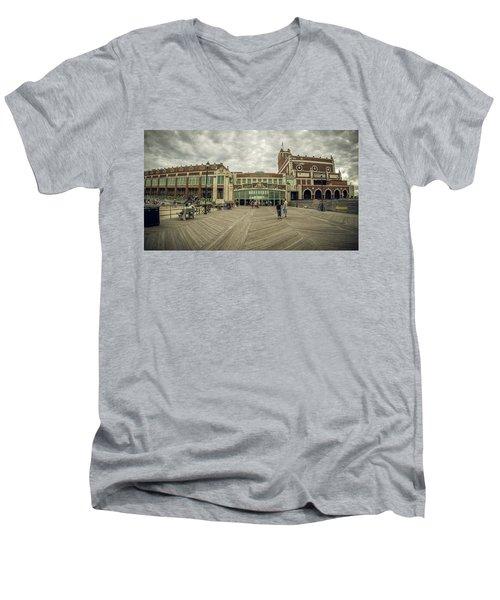 Asbury Park Convention Hall Men's V-Neck T-Shirt