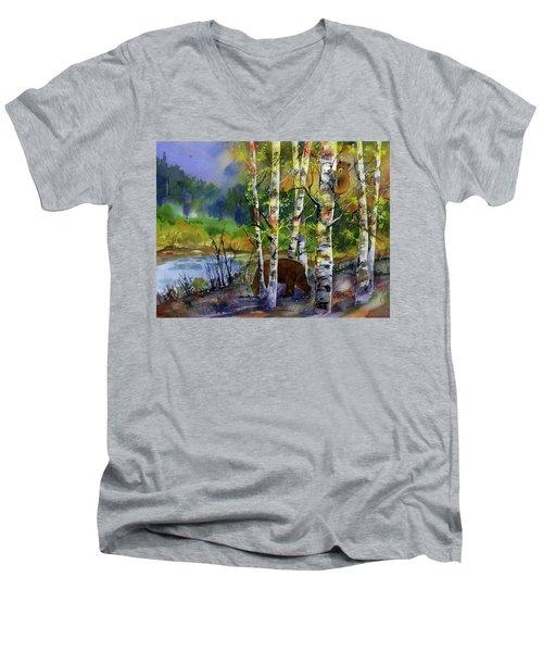 Aspen Bears #2 Men's V-Neck T-Shirt