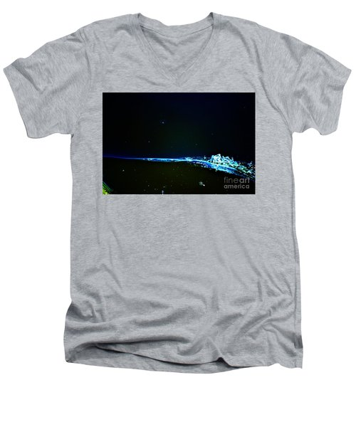 At The Dropoff Point Men's V-Neck T-Shirt