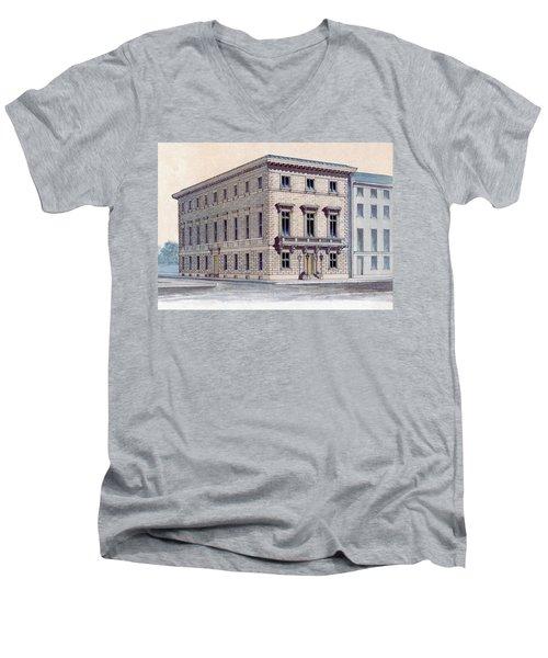 Athenaeum Perspective Men's V-Neck T-Shirt