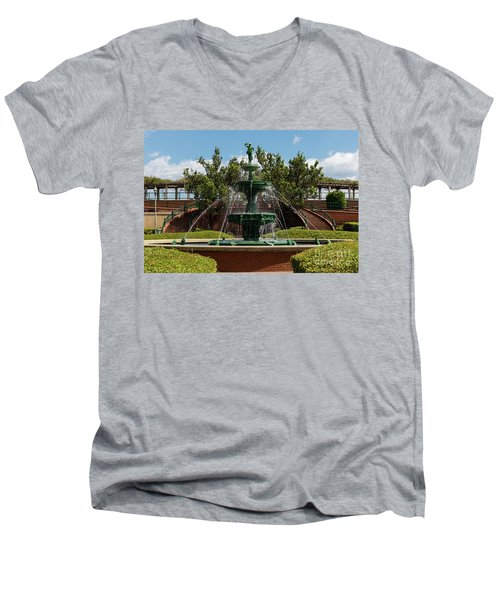 Augusta Riverwalk - Augusta Ga Men's V-Neck T-Shirt