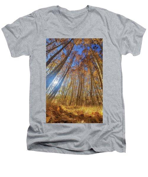 Autumn Giants Men's V-Neck T-Shirt