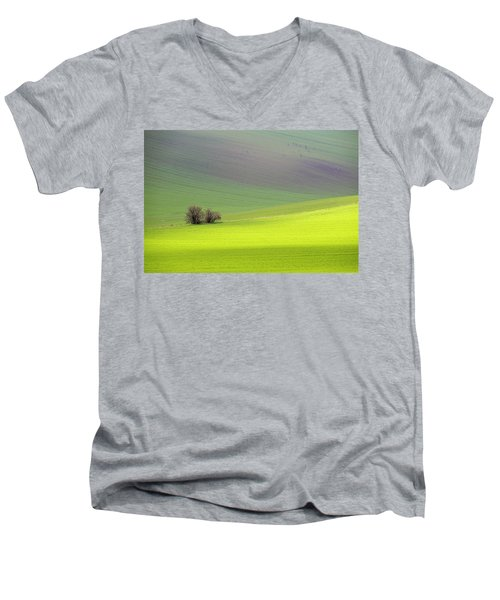 Autumn In South Moravia 13 Men's V-Neck T-Shirt