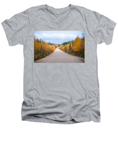 Autumn In Ontario Men's V-Neck T-Shirt