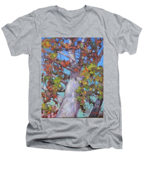 Autumn Oak Men's V-Neck T-Shirt