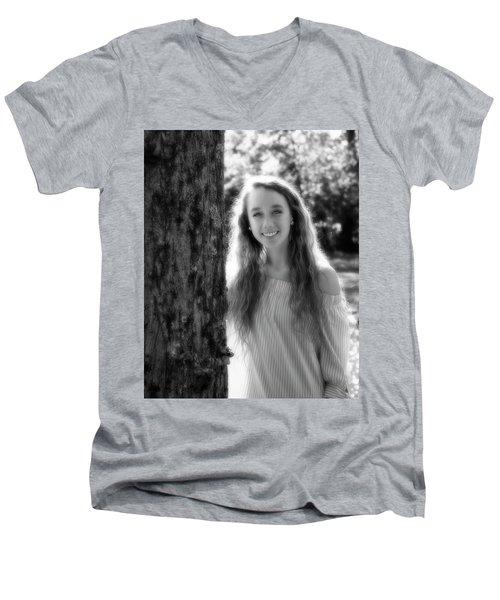 2B Men's V-Neck T-Shirt