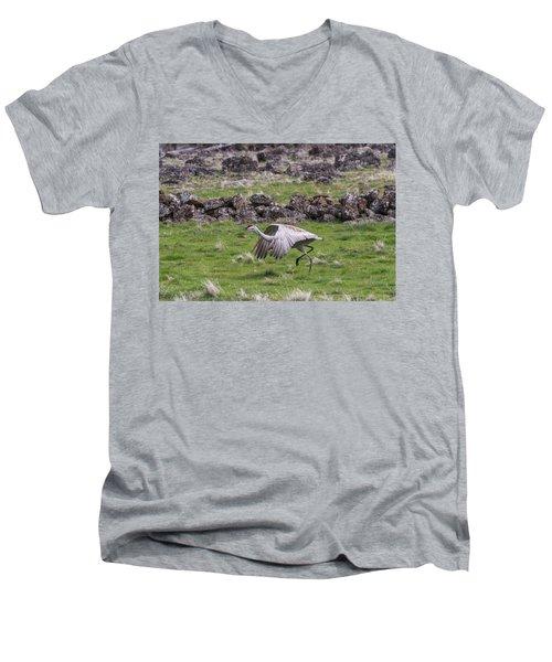 B27 Men's V-Neck T-Shirt