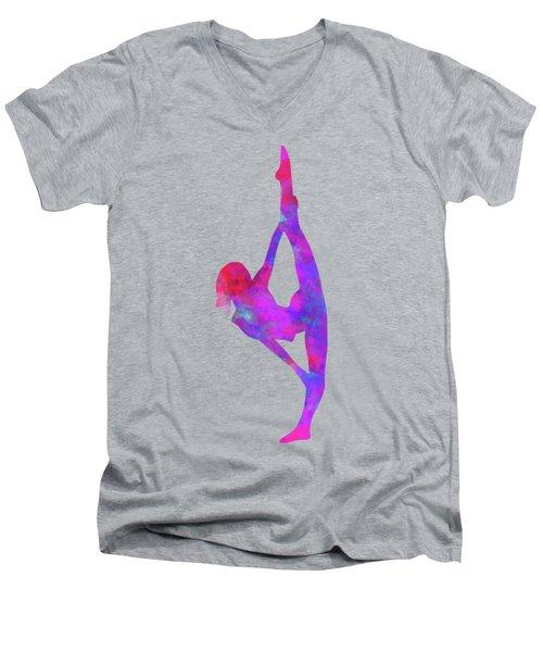 Ballet Splits Men's V-Neck T-Shirt