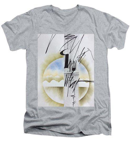 Bamboo 7 Men's V-Neck T-Shirt