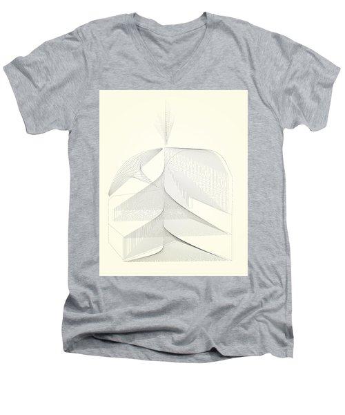 Barn Ramp Construct Men's V-Neck T-Shirt