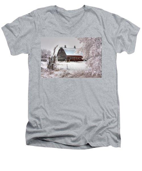 Barney Men's V-Neck T-Shirt