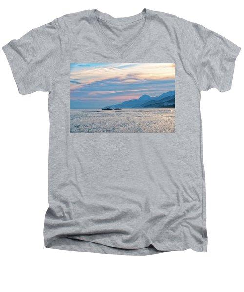 Batangas Sunset Men's V-Neck T-Shirt
