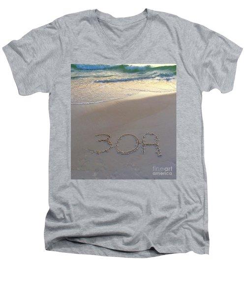 Beach Happy Men's V-Neck T-Shirt