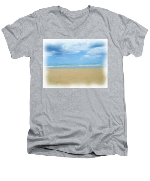 Beach Men's V-Neck T-Shirt