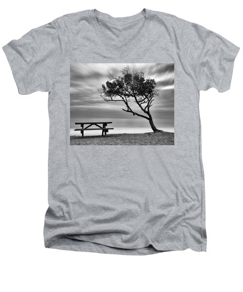 Beach Tree Men's V-Neck T-Shirt