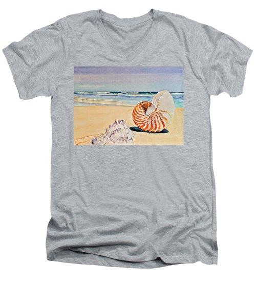 Beachcomber Men's V-Neck T-Shirt