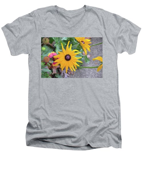 Beautiful Men's V-Neck T-Shirt