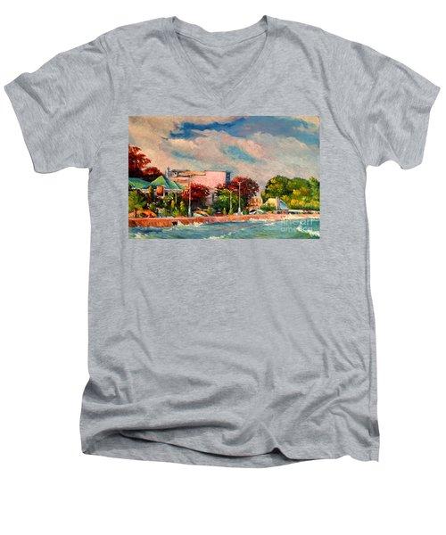 Berlin Wall Men's V-Neck T-Shirt