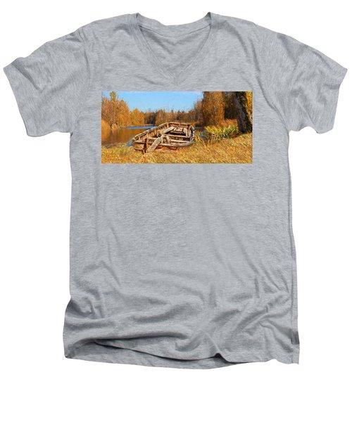 Better Times Men's V-Neck T-Shirt
