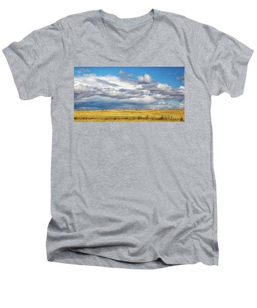 Big Sky Montana Men's V-Neck T-Shirt