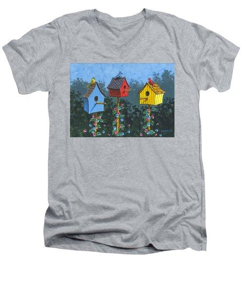 Bird House Lane Sketch Men's V-Neck T-Shirt