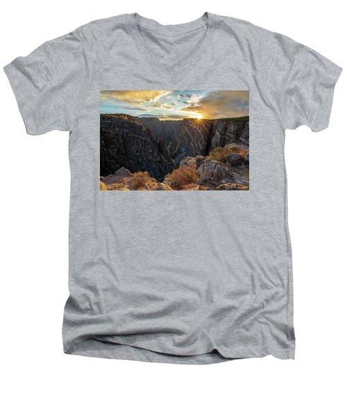 Black Canyon Sendoff Men's V-Neck T-Shirt