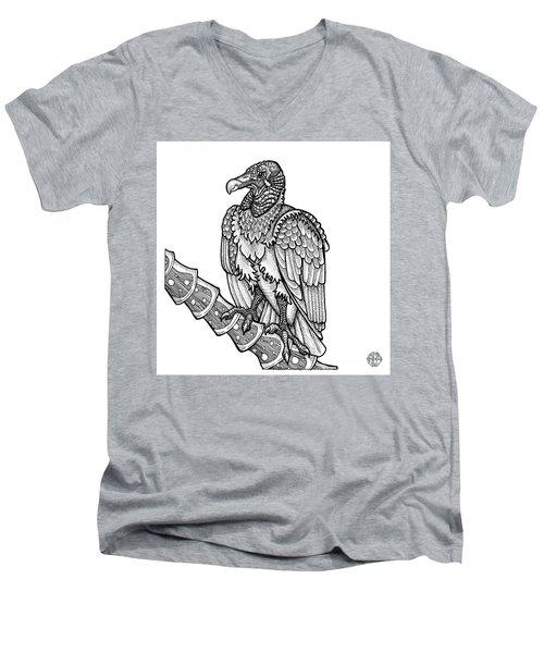 Black Vulture Men's V-Neck T-Shirt