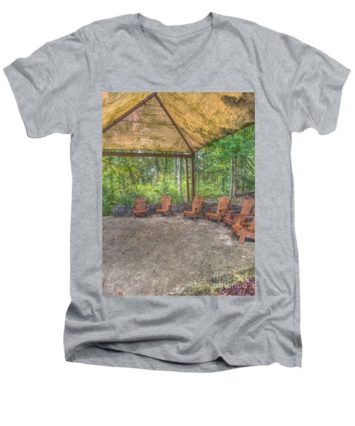 Blacklick Woods - Chairs Men's V-Neck T-Shirt