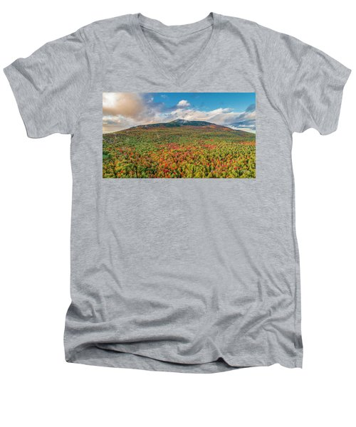 Blanketed In Color Men's V-Neck T-Shirt