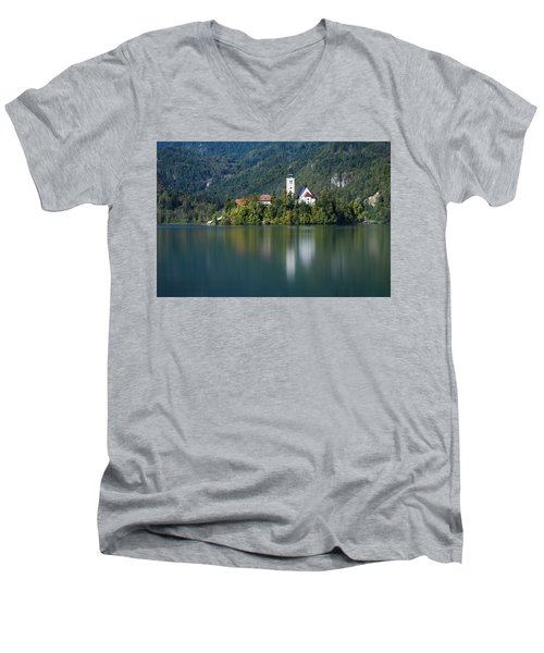 Bled Island Men's V-Neck T-Shirt