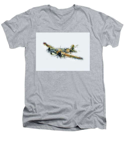 Blenheim Bomber Men's V-Neck T-Shirt