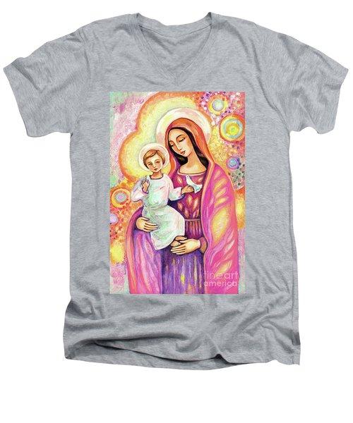 Blessing From Light Men's V-Neck T-Shirt