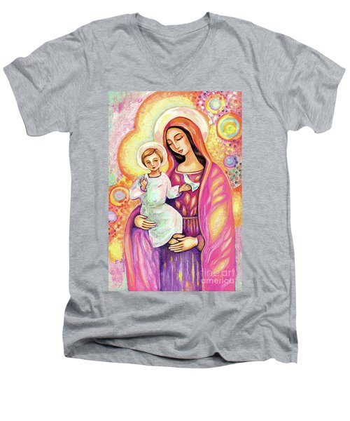 Blessing From Light Men's V-Neck T-Shirt