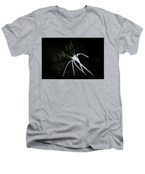 Blooming Poetry 2 Men's V-Neck T-Shirt