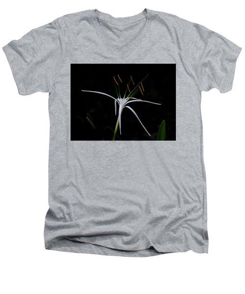 Blooming Poetry Men's V-Neck T-Shirt