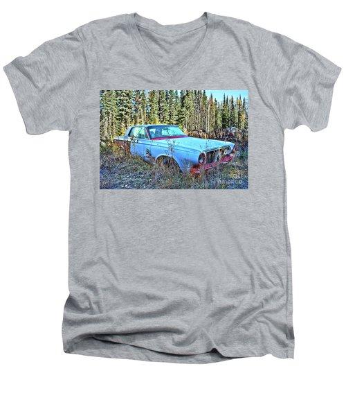 Blue Beauty Men's V-Neck T-Shirt