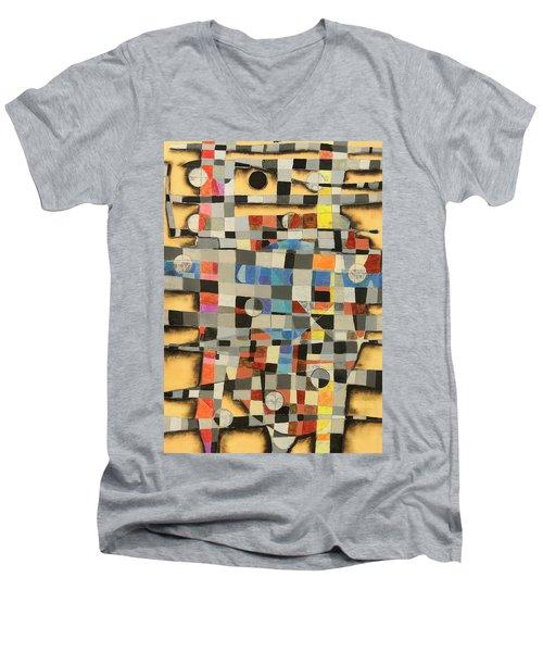 Blue Bull Men's V-Neck T-Shirt