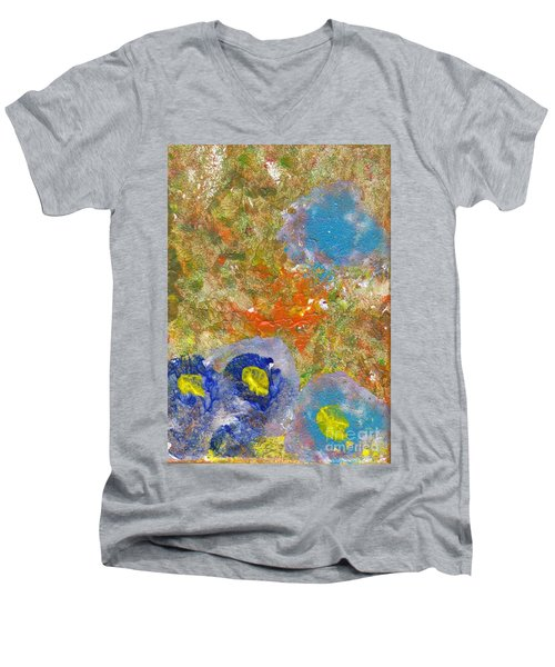 Blue In The Forest Men's V-Neck T-Shirt