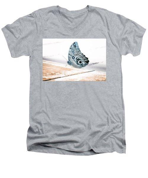 Blue Song Men's V-Neck T-Shirt