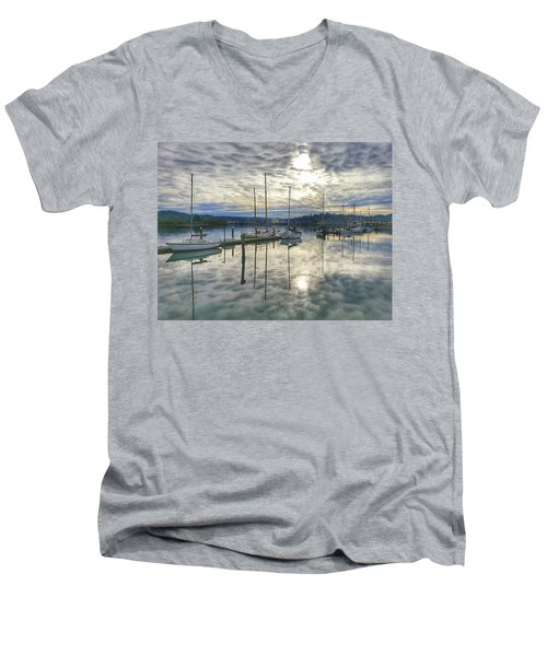 Boardwalk Bliss Men's V-Neck T-Shirt