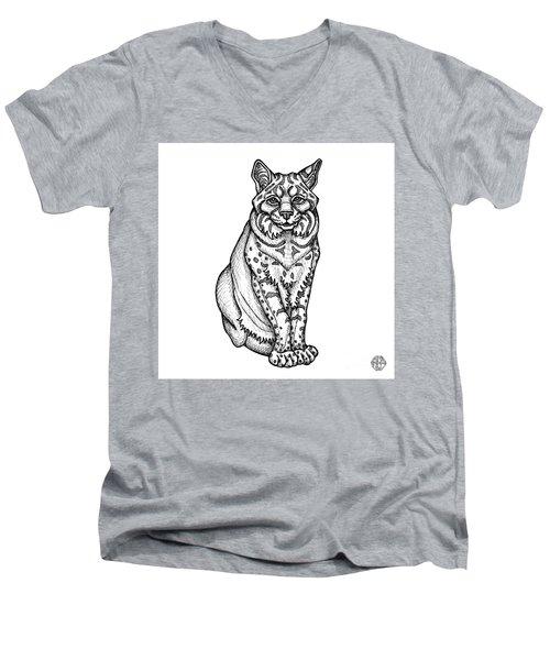 Bobcat Men's V-Neck T-Shirt