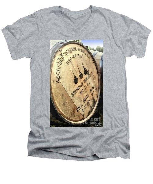 Bourbon Barrel Men's V-Neck T-Shirt