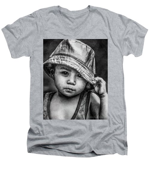 Boy-oh-boy Men's V-Neck T-Shirt