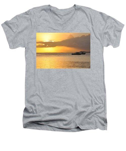 Brewers Bay Sundown Men's V-Neck T-Shirt