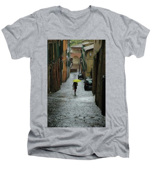 Bright Spot In The Rain Men's V-Neck T-Shirt