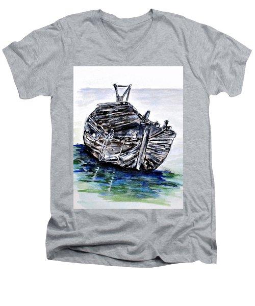 Broken But Afloat Men's V-Neck T-Shirt