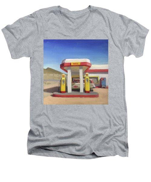 Broken Spoke Saloon, Lowell Men's V-Neck T-Shirt
